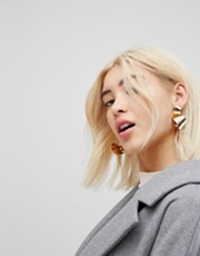 Asos Gold Monki Earrings